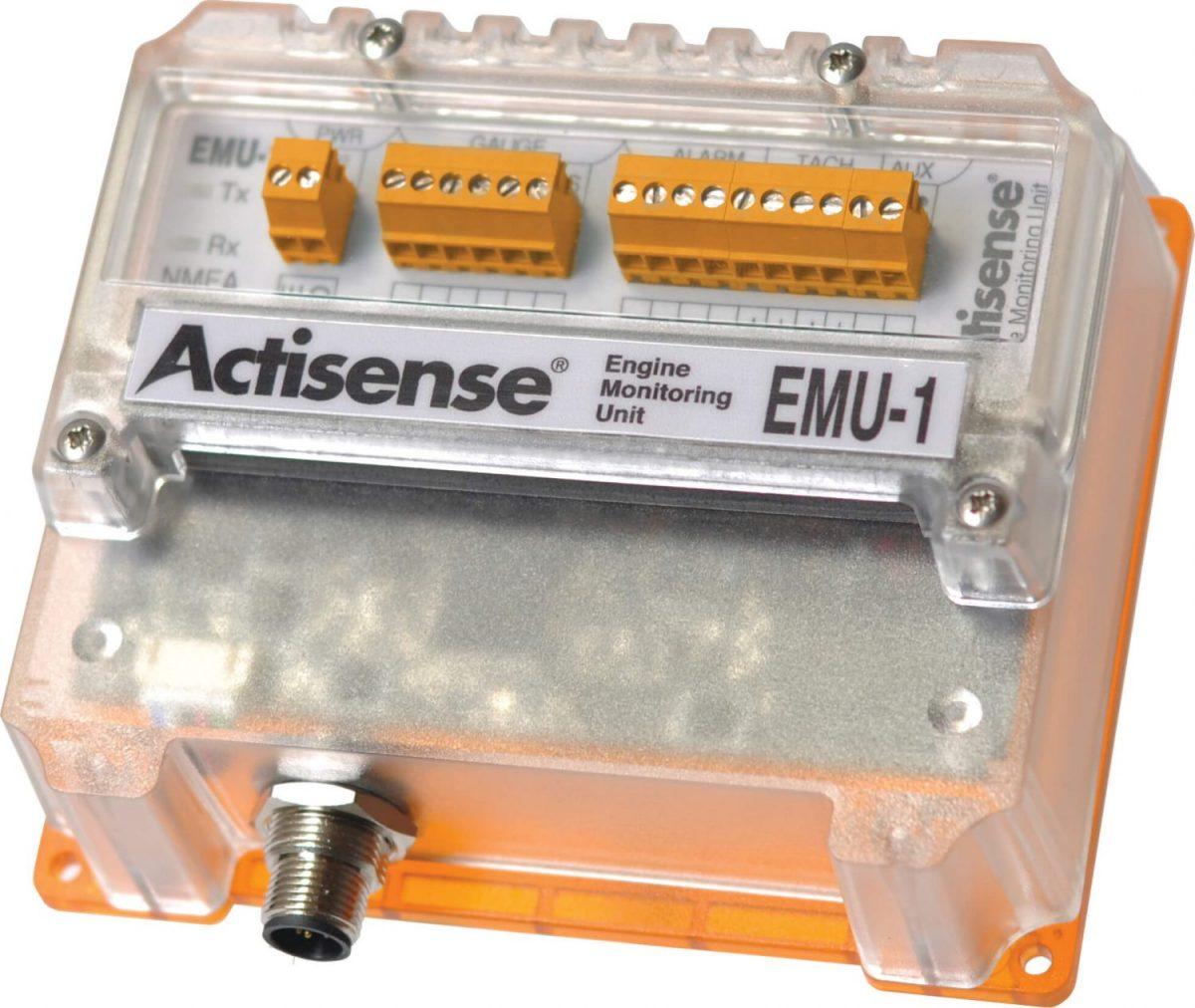 EMU-1 Engine Monitoring Unit   Analogue to NMEA 2000   Analog to NMEA 2000