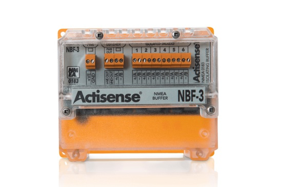 Marine Leisure Content Image Actisense providers of NMEA 2000 and NMEA 0183 products for boats and shipping vessels - NMEA Buffer