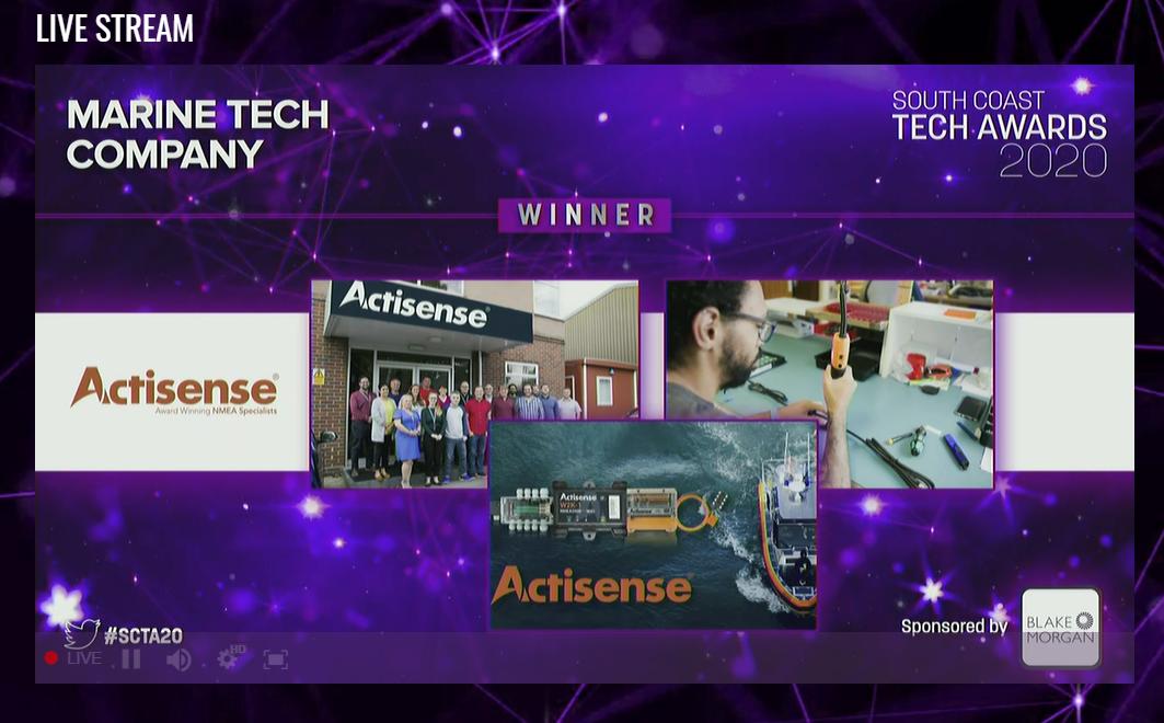 Best Marine Tech Company Award